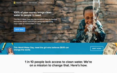 We Believe We Can End The Water Crisis In Our Lifetime | charity: water