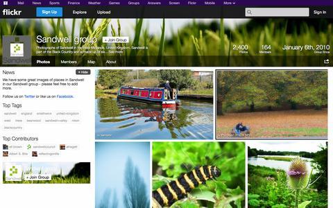 Screenshot of Flickr Page flickr.com - Flickr: The Sandwell group Pool - captured Nov. 2, 2014