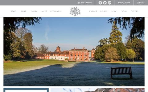 Screenshot of Signup Page oakleyhall-park.com - Discount Offers Basingstoke | Hotels in Hampshire - captured March 20, 2017