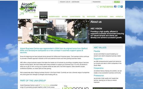 Screenshot of About Page airportbusinesscentre.net - About Us | www.airportbusinesscentre.net - captured Sept. 30, 2014