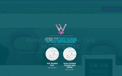 Screenshot of Privacy Page theworksstudio.nyc - Privacy Policy | The Works NYC - captured Nov. 2, 2018