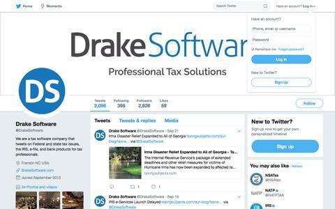 Drake Software (@DrakeSoftware) | Twitter
