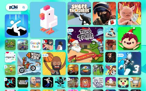 Screenshot of Home Page poki.ro - JOCURI ONLINE GRATIS - Joaca cele mai tari jocuri pe Poki.ro! - captured Dec. 12, 2018