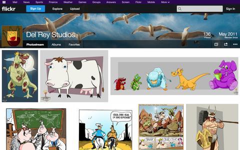 Screenshot of Flickr Page flickr.com - Flickr: Del Rey Studios' Photostream - captured Oct. 23, 2014