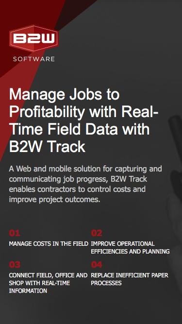 Manage Jobs to Profitability with Real-Time Field Data