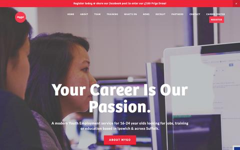 Screenshot of Home Page its-mygo.co.uk - MyGo - captured Feb. 23, 2017