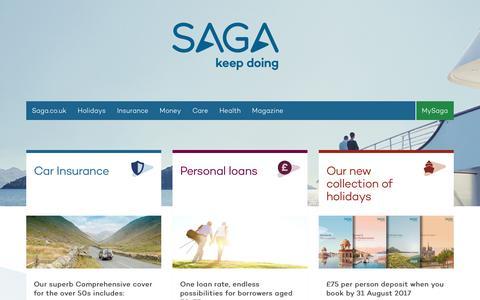 Saga: Over 50s Insurance, Holidays, Money and Magazine