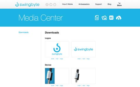 Screenshot of Press Page swingbyte.com - Mobile golf swing analysis on your phone or tablet | Swingbyte - captured Sept. 25, 2014
