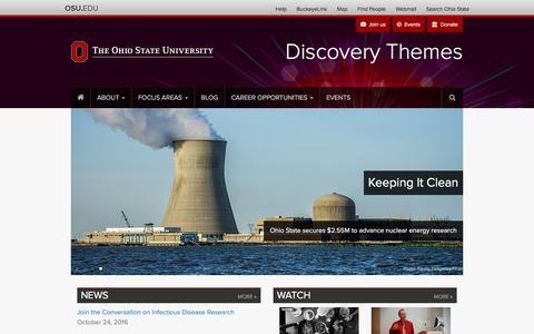 Home | Discovery Themes