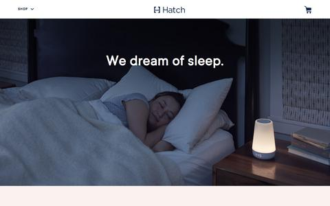 Screenshot of Jobs Page hatch.co - Careers | Hatch - captured Oct. 30, 2019