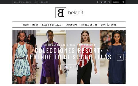 Screenshot of Blog belanit.cl - Diseño, Belleza, Tendencias y Más - Belanit Blog - captured Dec. 3, 2016