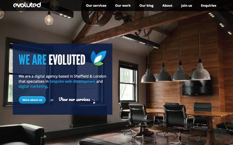 Web Design Sheffield - Evoluted Sheffield Website Design & SEO