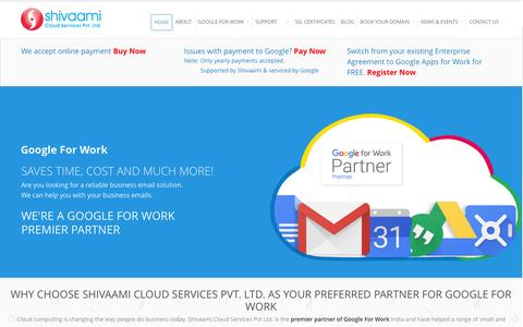 Google Business Apps for Business | Google For Work Reseller | Shivaami