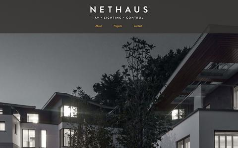 Screenshot of Home Page nethaus.co.uk - Nethaus - captured Oct. 7, 2014