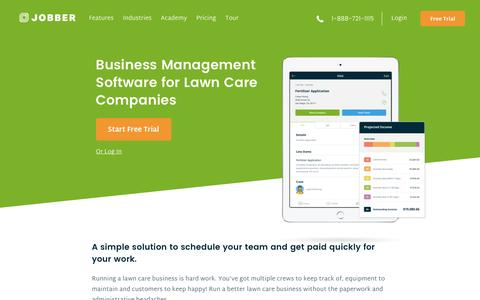 Lawn Care Scheduling & Billing Software | Jobber