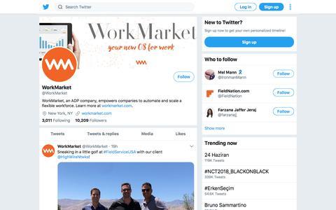 Tweets by WorkMarket (@WorkMarket) – Twitter