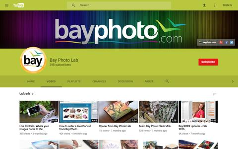 Bay Photo Lab - YouTube
