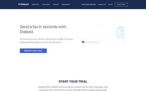 Digital Fax Feature | Dialpad