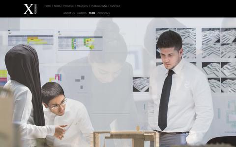Screenshot of Team Page x-architects.com - Team | X-Architects - captured Nov. 5, 2018