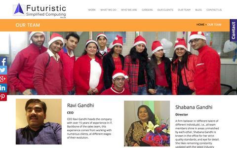Screenshot of Team Page fsc.co.in - Seo Analyst   Content Writer   Graphic Designer   Web Developer   Interns    Ecommerce   Our Team   - captured Jan. 29, 2017