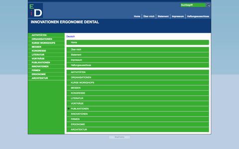 Screenshot of Site Map Page Menu Page inno-ergo-dento-d.eu - Karte - captured Oct. 23, 2014