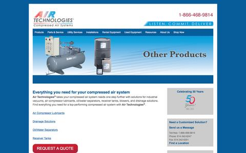 Other - Air Compressors, Air Compressor Systems from Air Technologies | Columbus, Cleveland, Cincinnati, Canton, Toledo, Indianapolis, Fort Wayne, Detroit, Grand Rapids, Erie, Pittsburgh, Nitro, Louisville, Lexington