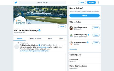 Tweets by PNC Father/Son Challenge (@PNCFatherSon) – Twitter