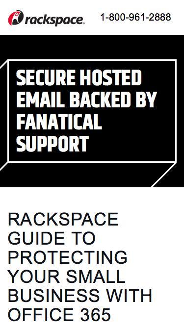 Rackspace | Download Email Security eBook