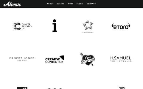 Clients – Atomic London