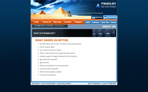 Screenshot of About Page pyramid.net - Pyramid.Net Internet Services - captured Oct. 3, 2014