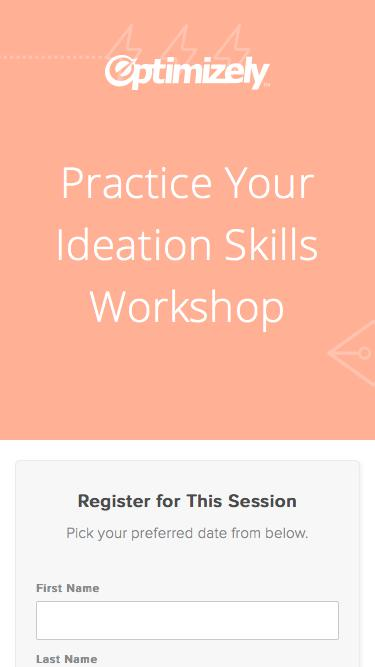 Practice Your Ideation Skills Workshop