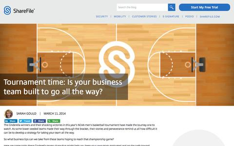 Screenshot of Team Page sharefile.com - Tournament time: Is your business team built to go all the way? - ShareFile Blog - captured Feb. 25, 2020