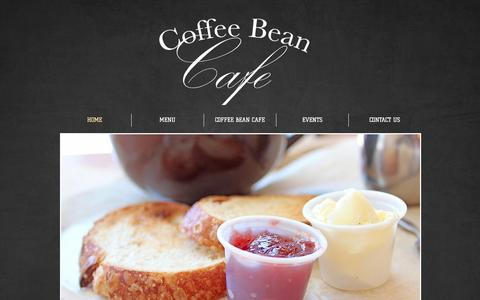 Screenshot of Home Page coffeebeancafe.us - Coffee Bean Cafe | Cleveland OH - captured Sept. 30, 2014