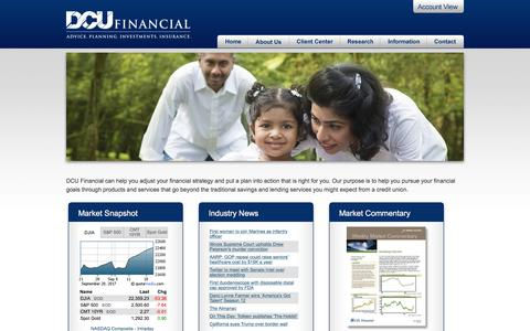 DCU Financial - Welcome