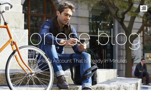 Screenshot of Blog monese.com - Monese blog | The Banking Account That Is Ready In Minutes - captured Nov. 26, 2015