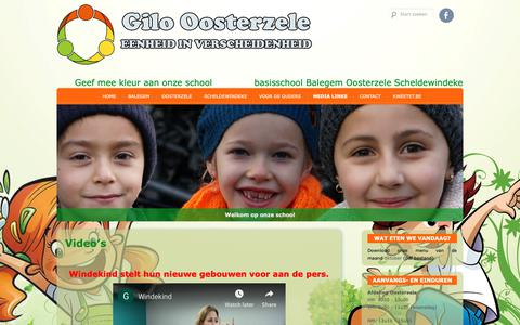 Screenshot of Press Page gbsoosterzele.be - Gilo Oosterzele » Video's - captured Oct. 25, 2018