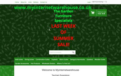 Screenshot of About Page myinternetwarehouse.co.uk - myinternetwarehouse About Us - captured Sept. 21, 2018