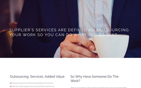 Screenshot of Services Page yes-tech.com - Services – Yes-Tech - captured Oct. 20, 2018