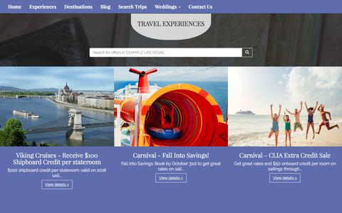 Screenshot of Products Page als-travel.com - Our Products | Air, Land and Sea Travel - captured Oct. 7, 2017