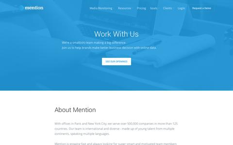 Jobs – Mention