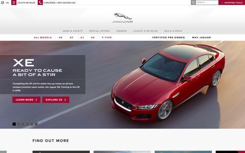 Screenshot of Press Page manhattanjaguar.com - Jaguar: Luxury Cars & Sports Cars  | Jaguar USA - captured Oct. 4, 2014