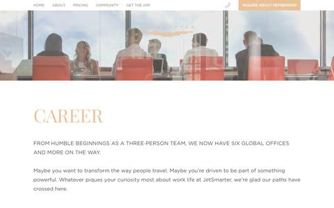 Careers   JetSmarter
