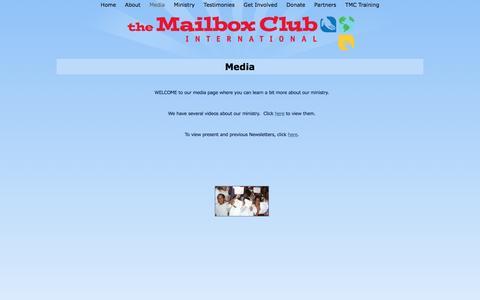 Screenshot of Press Page mailboxclub.org - Media - captured Dec. 17, 2016