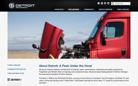 Screenshot of About Page demanddetroit.com - About Us - Demand Detroit - captured Nov. 24, 2016