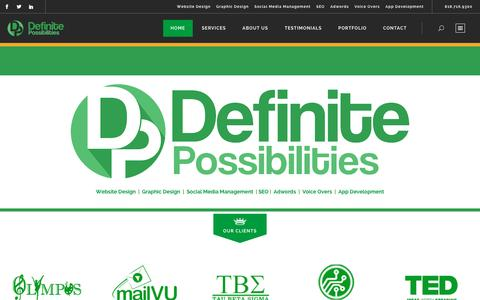 Definite Possibilities | Personalized Marketing