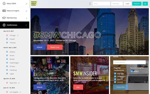 Welcome - Social Media Week