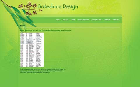 Screenshot of Press Page botechnic.com.au - News - Botechnic Design - captured Oct. 5, 2014