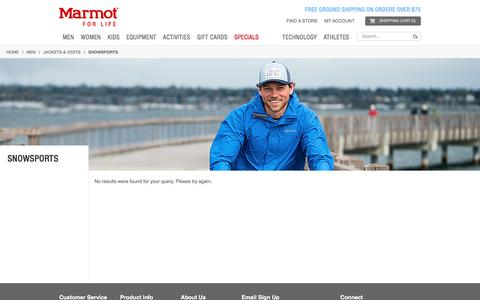Snowsports / Jackets & Vests / Men   Marmot