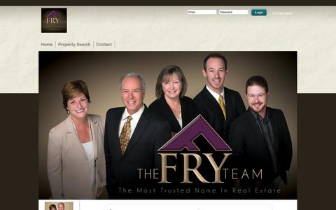 Screenshot of Support Page fryteam.com - Support Form | Mary Fry - captured Feb. 10, 2016