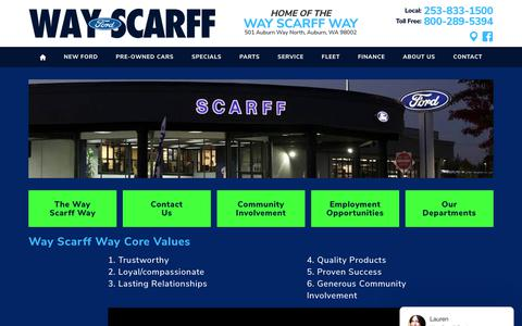 Screenshot of About Page scarfffordauburn.com - Contact: Ford dealership contact form | Scarff Ford - captured Oct. 2, 2018